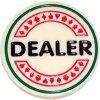 Profesionální Dealer Button