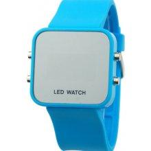 Zrcadlové LED Jelly MA modré