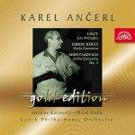 Česká filharmonie/Ančerl Karel - Ančerl Gold Edition 42 Liszt : Preludia / Bárta : Koncert pro violu / Šostakovič : Koncert pro violoncello CD