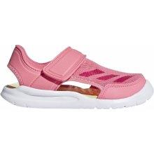 Adidas Performance FortaSwim C Růžová   Červená   Bílá 5514a60c231