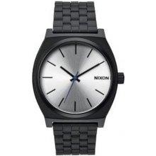 Nixon Time Teller / stříbrné
