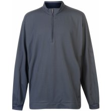 Ashworth Zip Pullover Mens Graphite