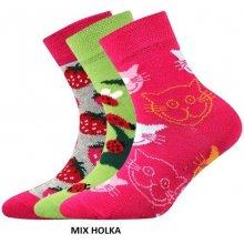 BOMA Ponožky protiskluzové FILIP ABS holka 5792febea3