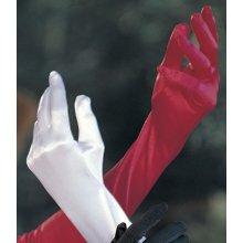 Shirley of Hollywood Dámské rukavice saténové 219 fialová ( purple )
