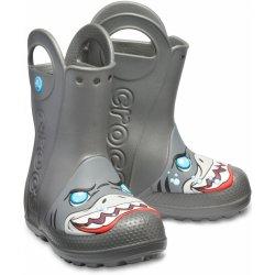 56a753a64d9 Crocs Chlapecké holínky Crocs FL Creature Rain Boot - šedé od 847 Kč ...