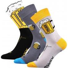 VoXX ponožky PiVoXX 3 páry mix barev