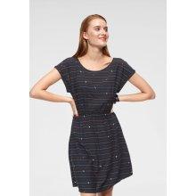 d54c76ec6921 Tom Tailor Denim letní šaty s potiskem námořnická modrá