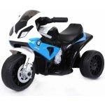 Beneo Elektrická tříkolka BMW S 1000 RR Licencované 6 V kožené sedadlo 1 motor modré