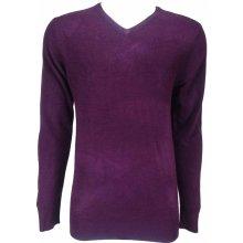 PEACOCKS pánský svetr fialový