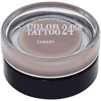 Maybelline Color Tattoo 24H oční stíny 40 Permanent Taupe 4 g
