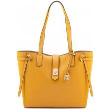 1409cee04b Michael Kors Cassie Leather LG Tote kabelka žlutá
