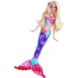 Mattel Barbie svítící mořská panna blond vlasy