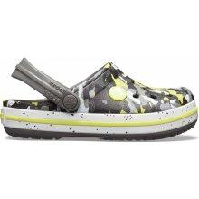 1fb89265433 Crocs Crocband Camo Spec Clog Kids - Graphite Camo