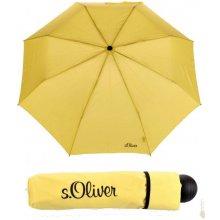 S´oliver Deštník skládací s.Oliver Fruit-Cocktail 70801SO21 žlutý