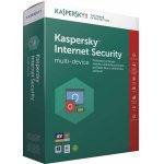 Kaspersky Internet Security multi-device 2017 5 lic. 1 rok nová licence elektronicky (KL1941OCEFS)