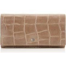 Castelijn & Beerens Dámská kožená peněženka RFID 463386 TA taupe