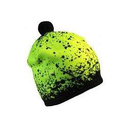 Zimní čepice s bambulkou Prskance Žlutá neonová alternativy - Heureka.cz 107cc1bc58
