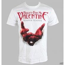 Bullet For My Valentine Temper Temper Blood Hands tričko