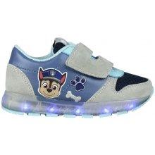 Disney Brand Chlapecké svítící tenisky Paw Patrol - šedo-modré 295e163777