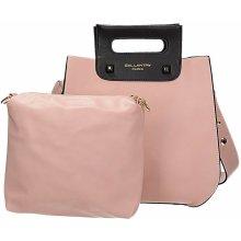 Gallantry kabelka-kufřík 2 v 1 růžová