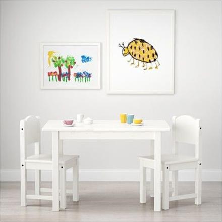 Ikea Sundvik dětský stůl + 2x židle bílá alternativy - Heureka.cz 5359512bea9