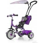 Milly Mally Boby Bike Deluxe Dětská tříkolka se stoupátkem violet