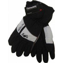0475ad565a1 Action GS383-3 pánské lyžařské rukavice černé