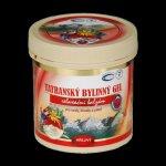 Topvet Tatranský bylinný masážní gel hřejivý 250 ml