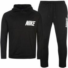 Nike AV15 Fleece Tracksuit Mens Black