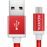 ADATA AMUCAL-100CMK-CRD Micro USB, 1m, červený