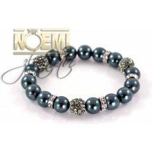 Náramek perlový s krystaly Swarovski 333058 ac50e3adf85