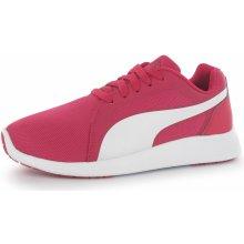 Puma ST Trainer Evo Jr rose red-white
