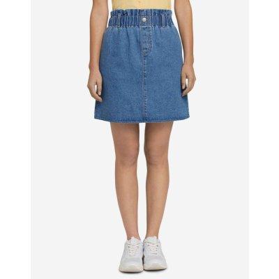 Tom Tailor Denim sukně dámské modrá