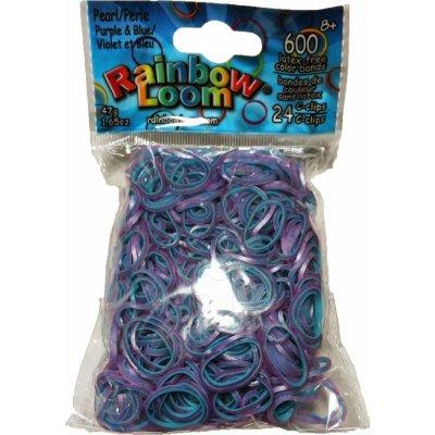 Loom Bands - Gumičky na náramky - fialovo modrá