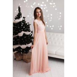 Eva   Lola společenské šaty Nadine růžová od 1 890 Kč - Heureka.cz 7340261f9b