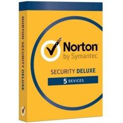 Symantec NORTON SECURITY DELUXE 3.0, 5 zařízení na 1 rok ESD (21358352)