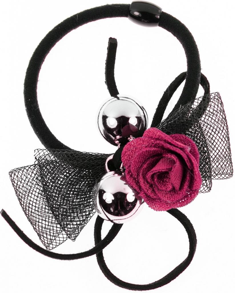 Fashion Icon Gumička do vlasů růže s zlatými kuličkami VG0029-36 od 59 Kč -  Heureka.cz 9f587c3059