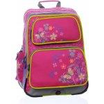 Školní batoh GOTSCHY 0115 B PINK/FLOWERS BAGMASTER