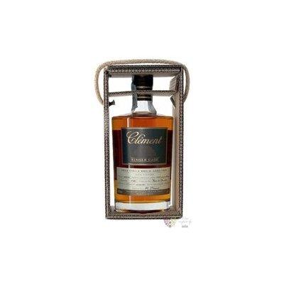 """Clément agricole tres vieux """" Single Cask Canne bleue """" 2001 rum of Martinique 41.5% vol. 0.5 l"""