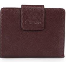Esquire Dámská kožená peněženka Primavera 126205 vínová
