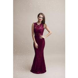 Eva   Lola společenské krajkové šaty Pascale vínová od 1 890 Kč ... 4ac2f8db1f