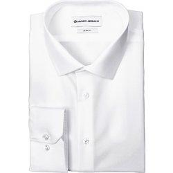 55eb9125e5c Marco Moralli pánská nežehlivá NON-IRON košile NI1 Bílá