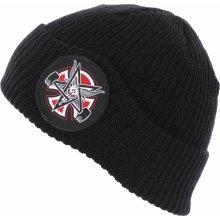 INDEPENDENT Thrasher Pentagram Cross Beanie Long Shoreman Hat Black ce4e21f194