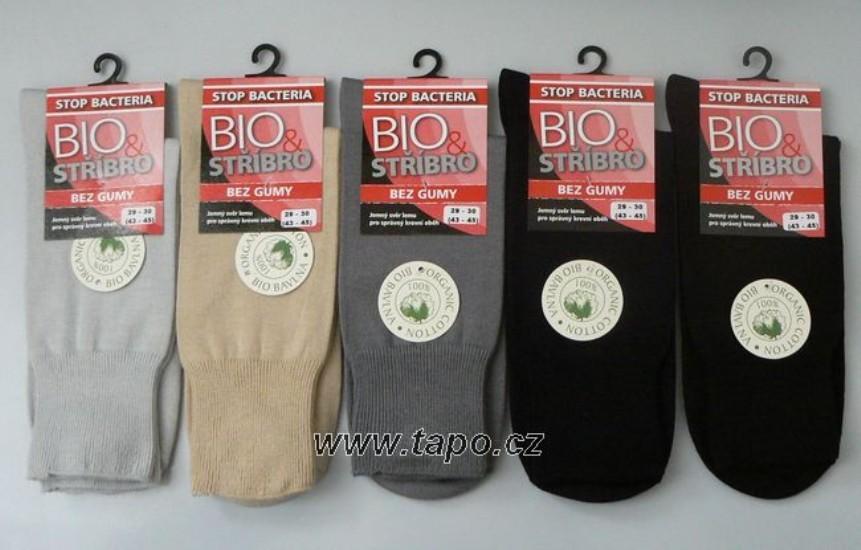 5f58e675775 ponožky Bio + Stříbro Zdravotní