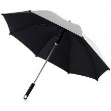 XD Design Hurricane deštník 58,5cm stříbrná