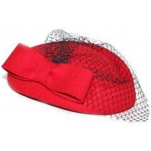 Collectif Dámský klobouček Lucy červený