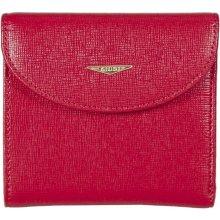 dámská červená kožená peněženka 6470/TRP/CRF, GIUDI