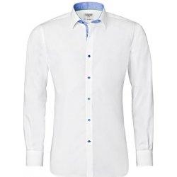 Bílá košile Vincenzo Boretti 2de39d44f3