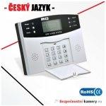 Bezdrátový GSM alarm BENTECH G06 - domovní set, CZ jazyk