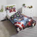 Jerry Fabrics Povlečení Avengers 03 140x200 70x90